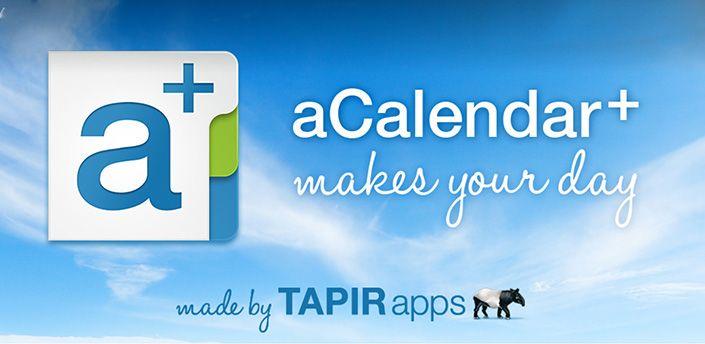 cool aCalendar+ Calendar  Tasks v160 APK Updated Download NOW