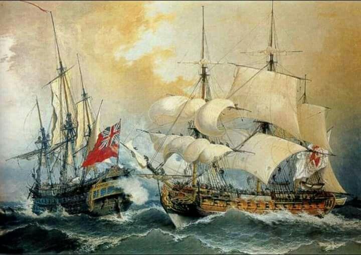 13 De Marzo De 1741 Comenzaba La Batalla De Cartagena De Indias La Mayor Derrota Realizada A La Marina Inglesa Ship Paintings Painting Maritime Art