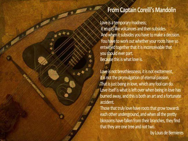 From Captain Corellis Mandolin Wedding