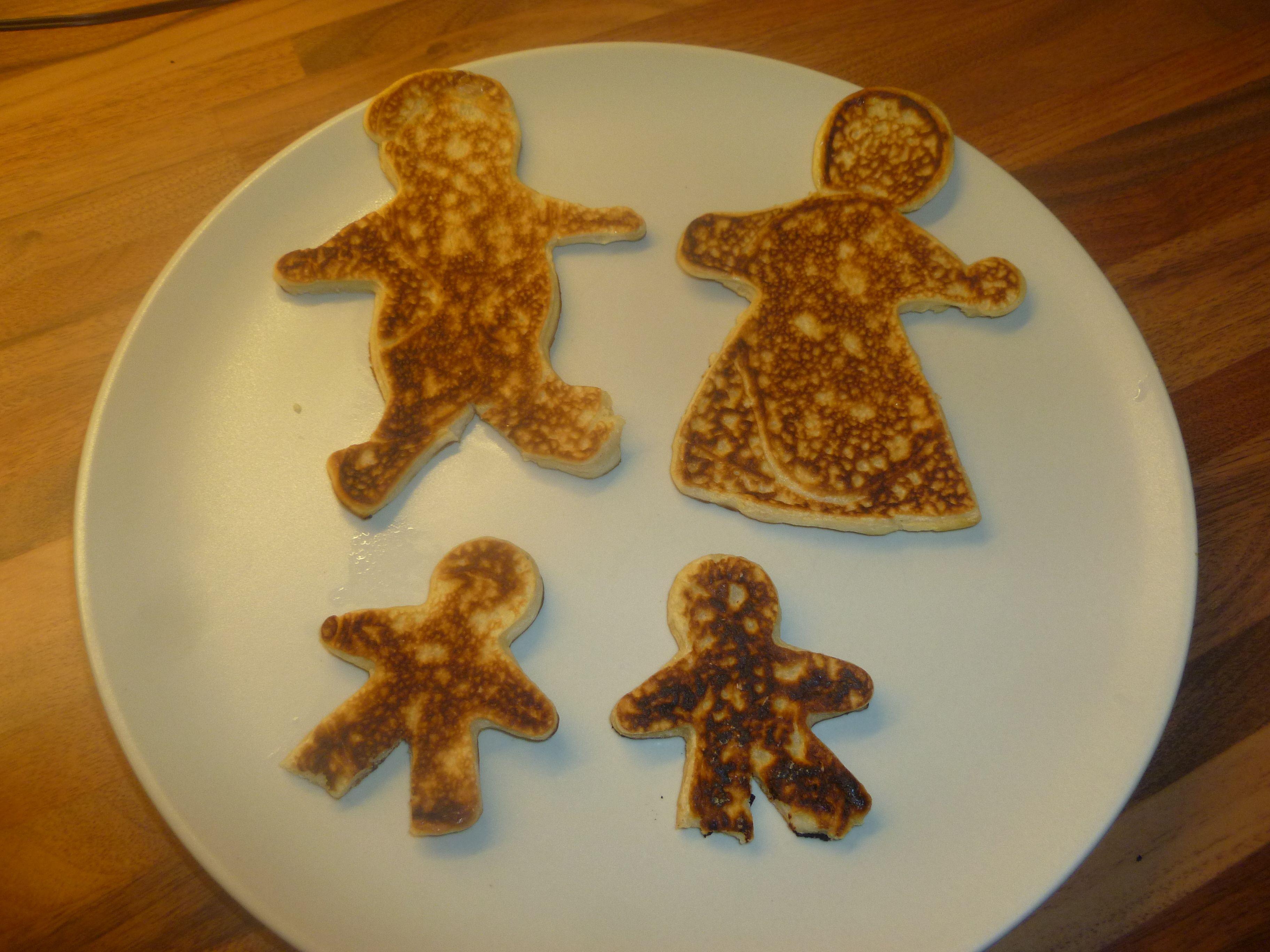 Chúng ta đang biến thành người bánh kếp (pancake people).