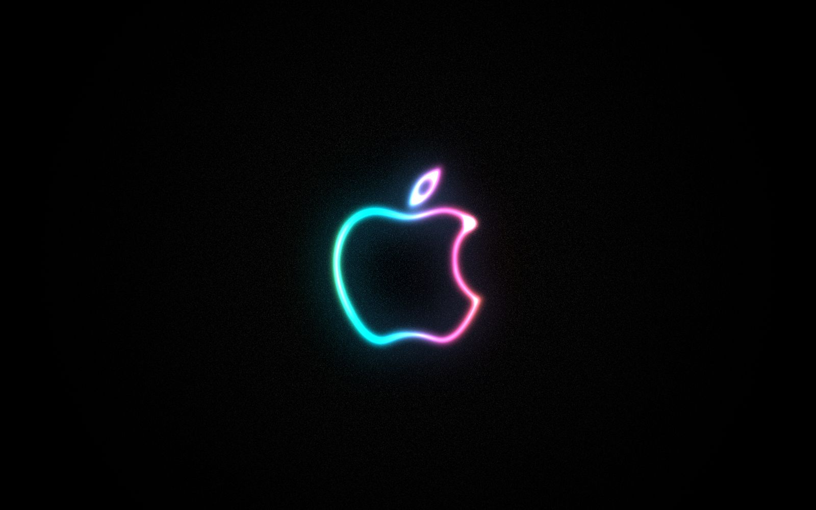 full hd wallpapers + computers, apple, mac, logos, black, neon
