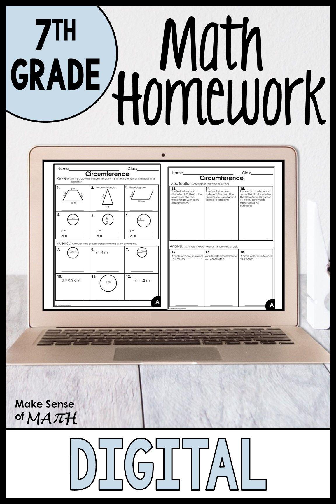 medium resolution of 7th Grade Math Worksheets in 2020   7th grade math