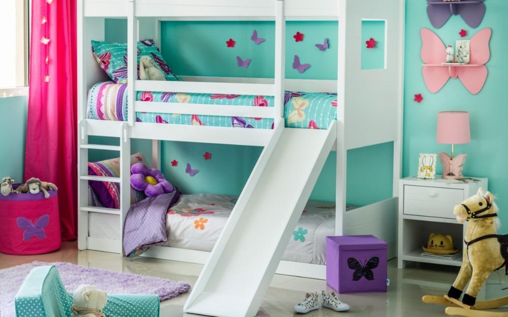 Harper House Single Bunk Bed 90x200