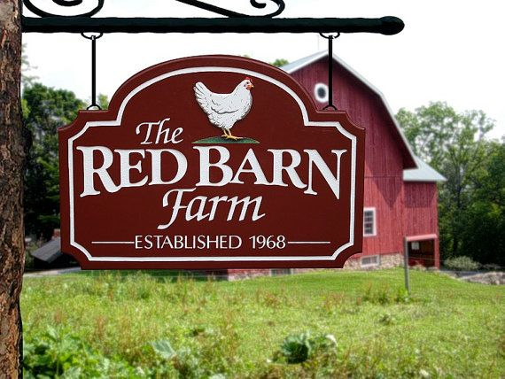 6d8a09df6512a Custom farm signs,custom outdoor name signs,farm sign,custom farm ...