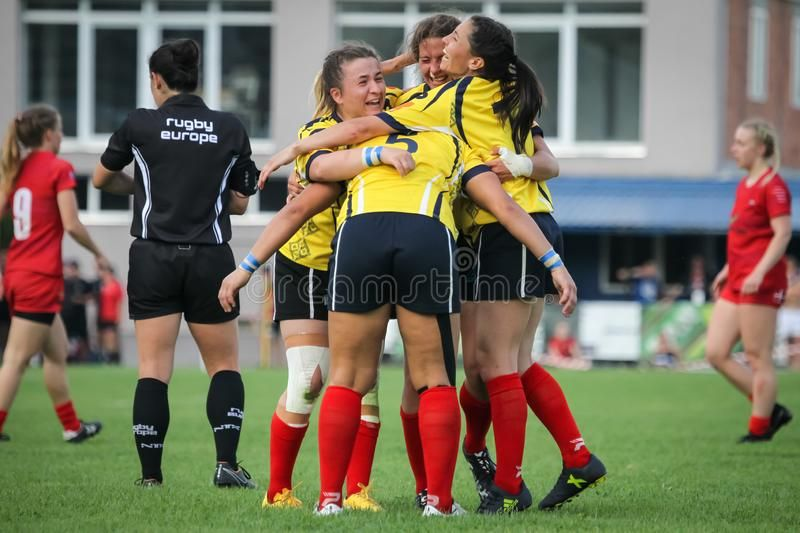 Womens European Championship Rugby 7 Royalty Free Stock Images Aff Championship Rugby Womens European Stock European Championships Rugby 7 S Rugby