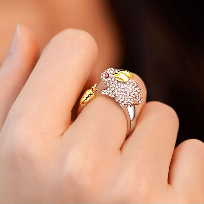ed1bcffd25 Cheap best Cute Chinese Zodiac Stylish Gold Rings Animals Wedding Diamonds  Silver Rings Gift for Girls Women - NewChic