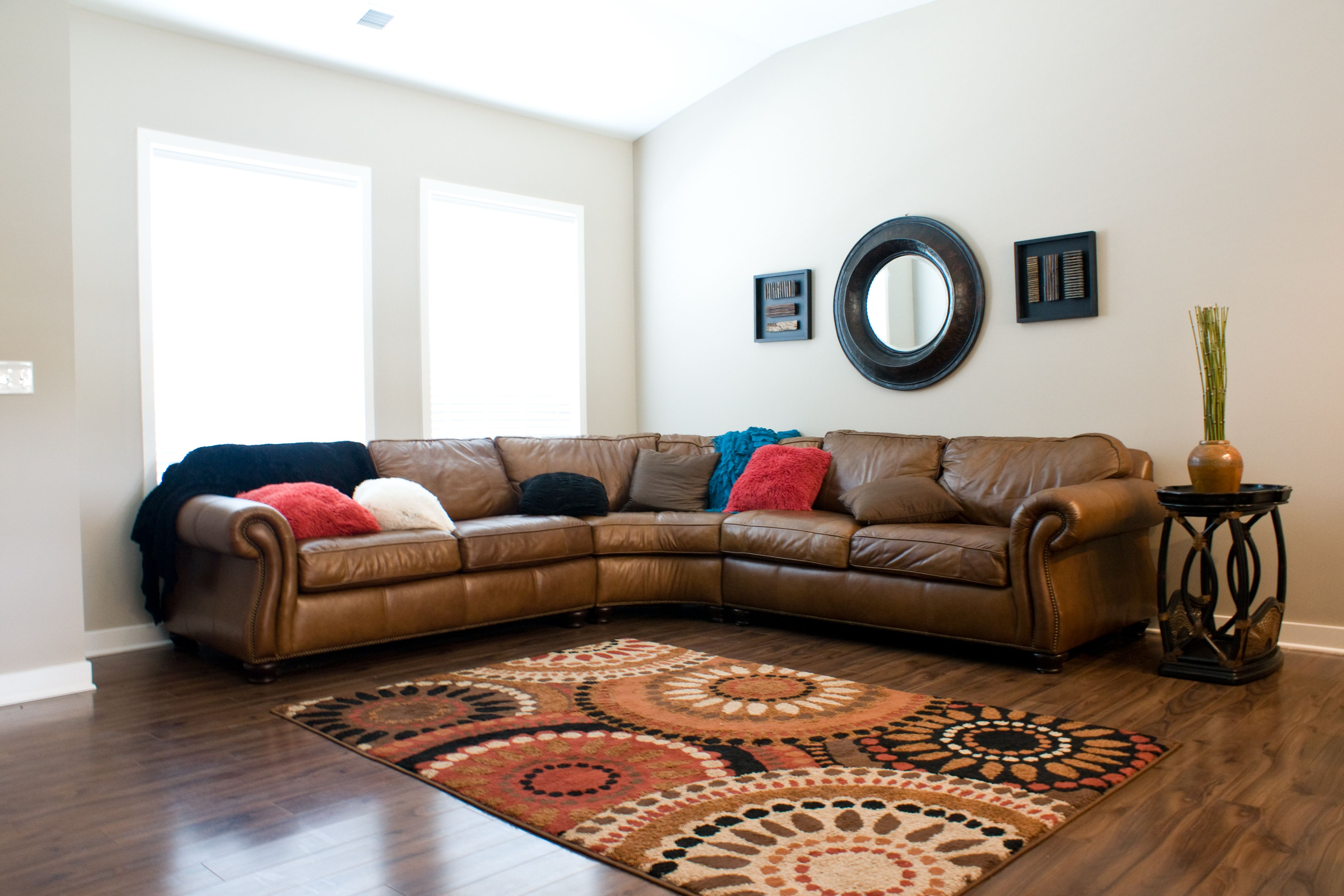 The living room of the Coventry II floor plan by Ball Homes.