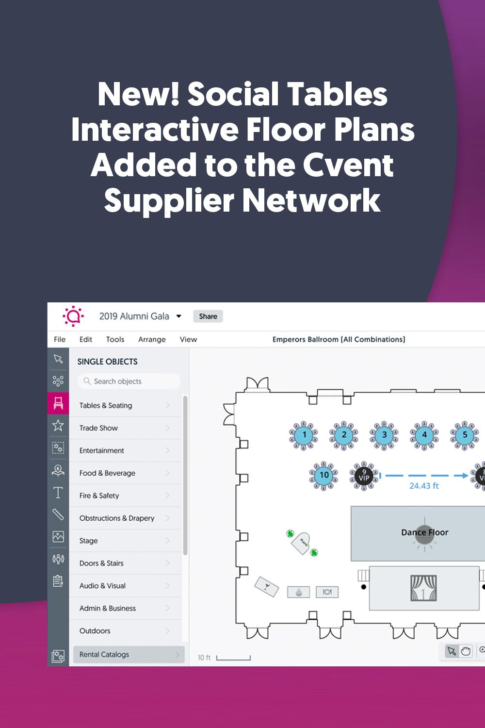 Floor Plans On The Cvent Supplier Network How To Plan