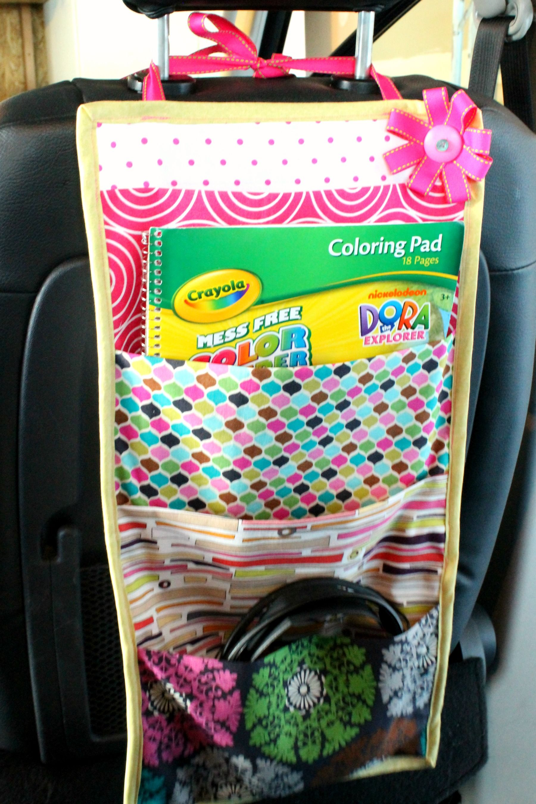 Travel Book Storage Pockets For The Car
