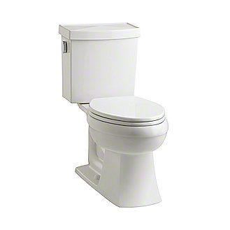 Kallista: Barbara Barry Two-Piece High-Efficiency Toilet, Less Seat: P70330-00