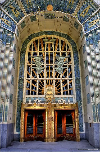 The marine building is located at 355 burrard street designed by mccarter nairne and partners it is renowned for its art deco details