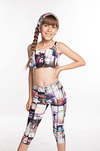 c442604759 Sleek & Sporty your legging soulmate for sweaty fitness. YogaBerries KIDS  Capri Yoga Pants.