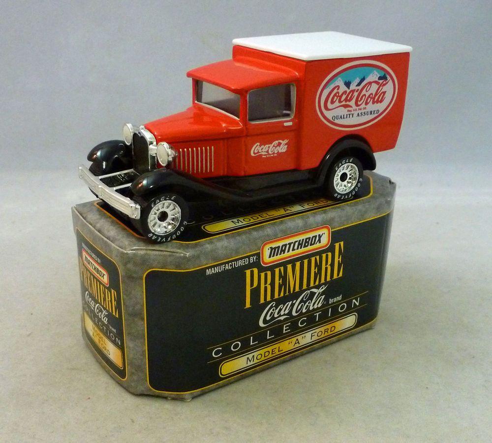 """Matchbox Premier """"Coca-Cola"""" Model """"A"""" Ford Van #Matchbox"""