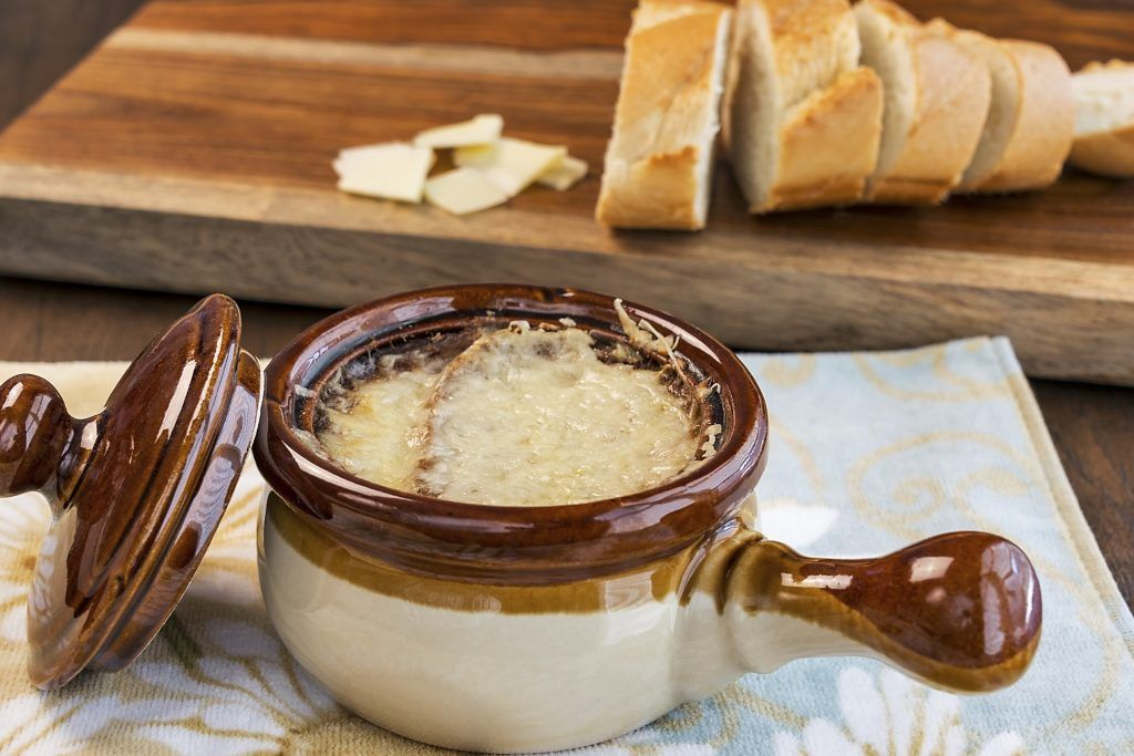 French Onion Soup with Crunchy Toasts Recipe French