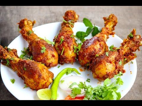 Chicken legs fry spicy and simple chicken leg piece fry recipe very simpletasty and spicy andhra hotel style chicken leg fry recipe i have given the instructions for making masala powder in the above video ccuart Image collections
