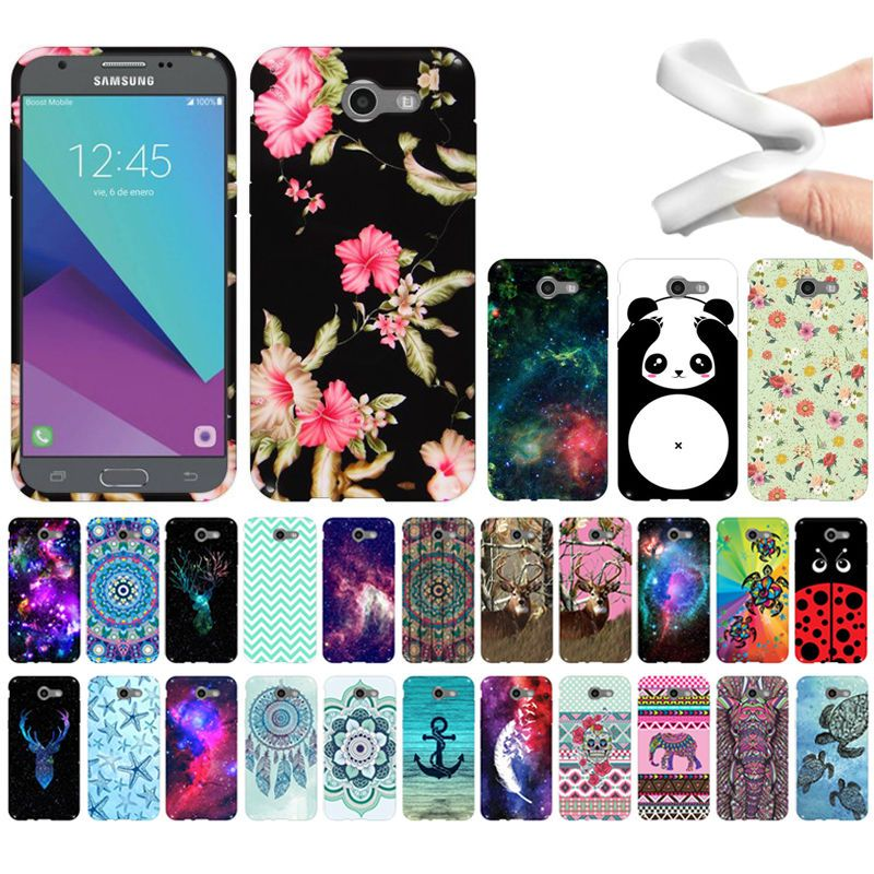 For Samsung Galaxy J3 Emerge J327 2017 2nd Gen Design Tpu Silicone Case Cover Unbrandedgeneric Samsung J3 Phone Cases Samsung Phone Cases Trendy Phone Cases