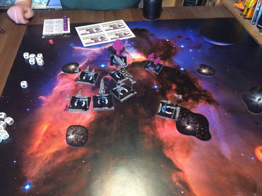 Halo Fleet Battles 2nd Turn Fleet, Halo, Battle