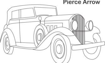 Free Coloring S Of Vintage Cars Old Pages In Uncategorized Style