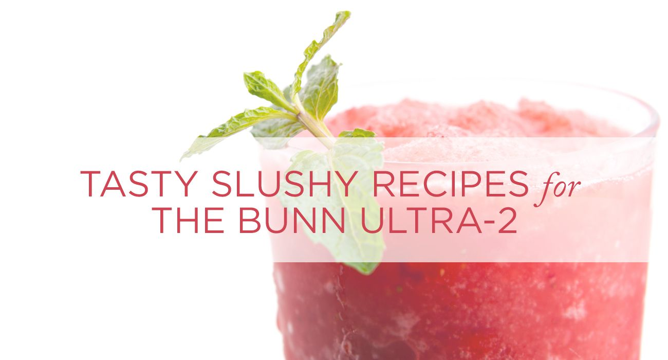 Tasty Slushy Recipes For The Bunn Ultra 2 Slushies Frozen Drink Recipes Frozen Drinks