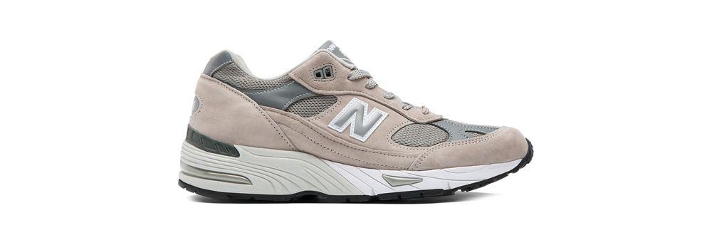 new balance grigio argento