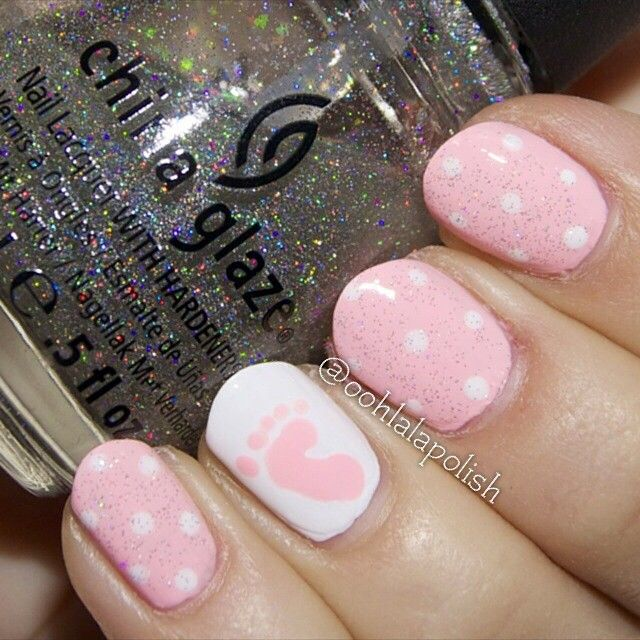Gotta Try This In Blue Oohlalapolish Baby Nail Nails Nailart