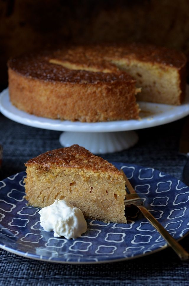 Maialino's Orange Olive Oil Cake #oliveoils