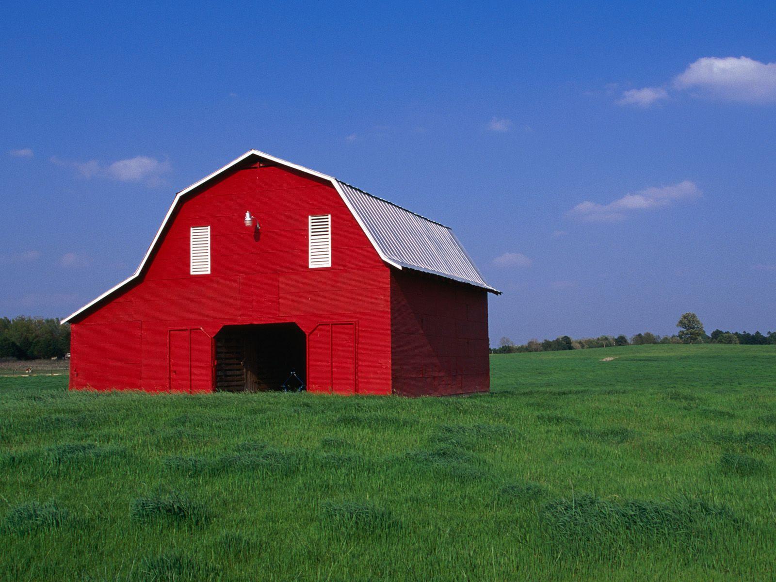 Barn red barn north of batesville arkansas travel pics for Red barn house