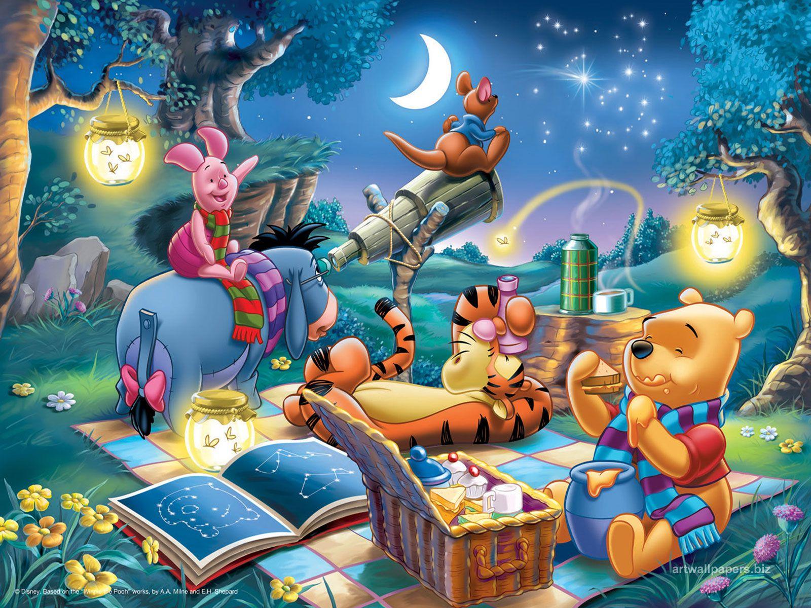 Real Fairy Tales Winnie The Pooh Winnie The Pooh Friends Happy Cartoon