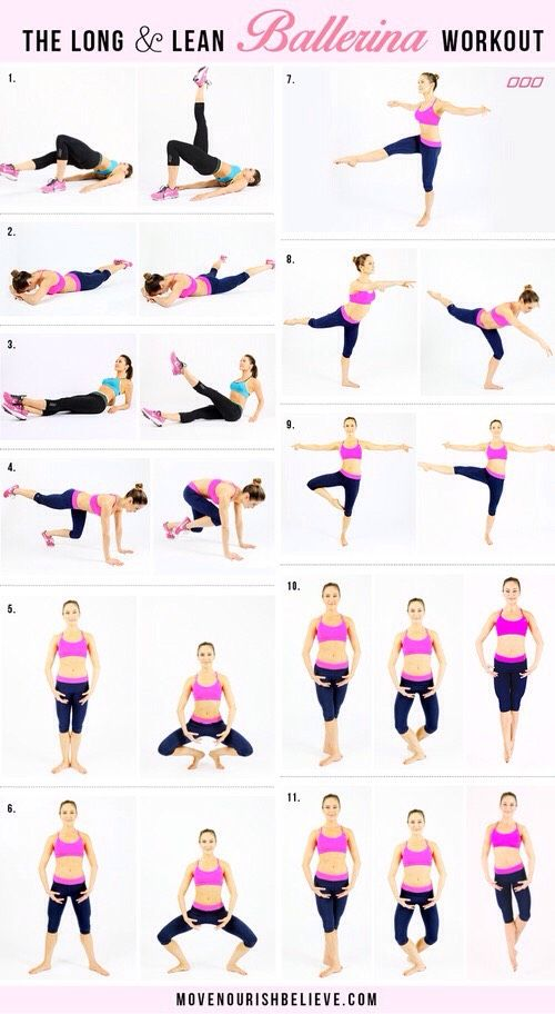 """The Long And Lean """"Ballerina"""" Workout #Health #Fitness #Trusper #Tip"""