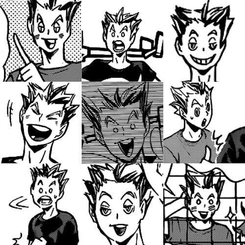 the many faces of bokuto koutarou owl