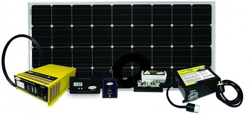 Go Power Weekender Sw Portable Solar Kit Complete Solar And Inverter System With 160w Of Solar Panels Gopower Solar Kit Rv Solar Power Portable Solar Panels