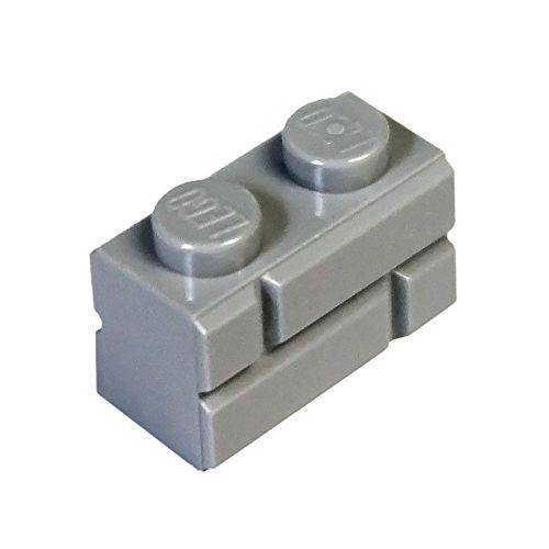 NEW 1x2 Light Grey Masonry Bricks LEGO 98283 20 Pieces Per Order