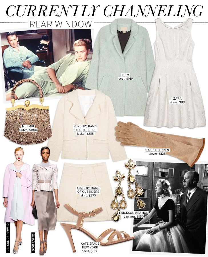 Currently Channeling: Rear Window - Celebrity Style and Fashion from WhoWhatWear