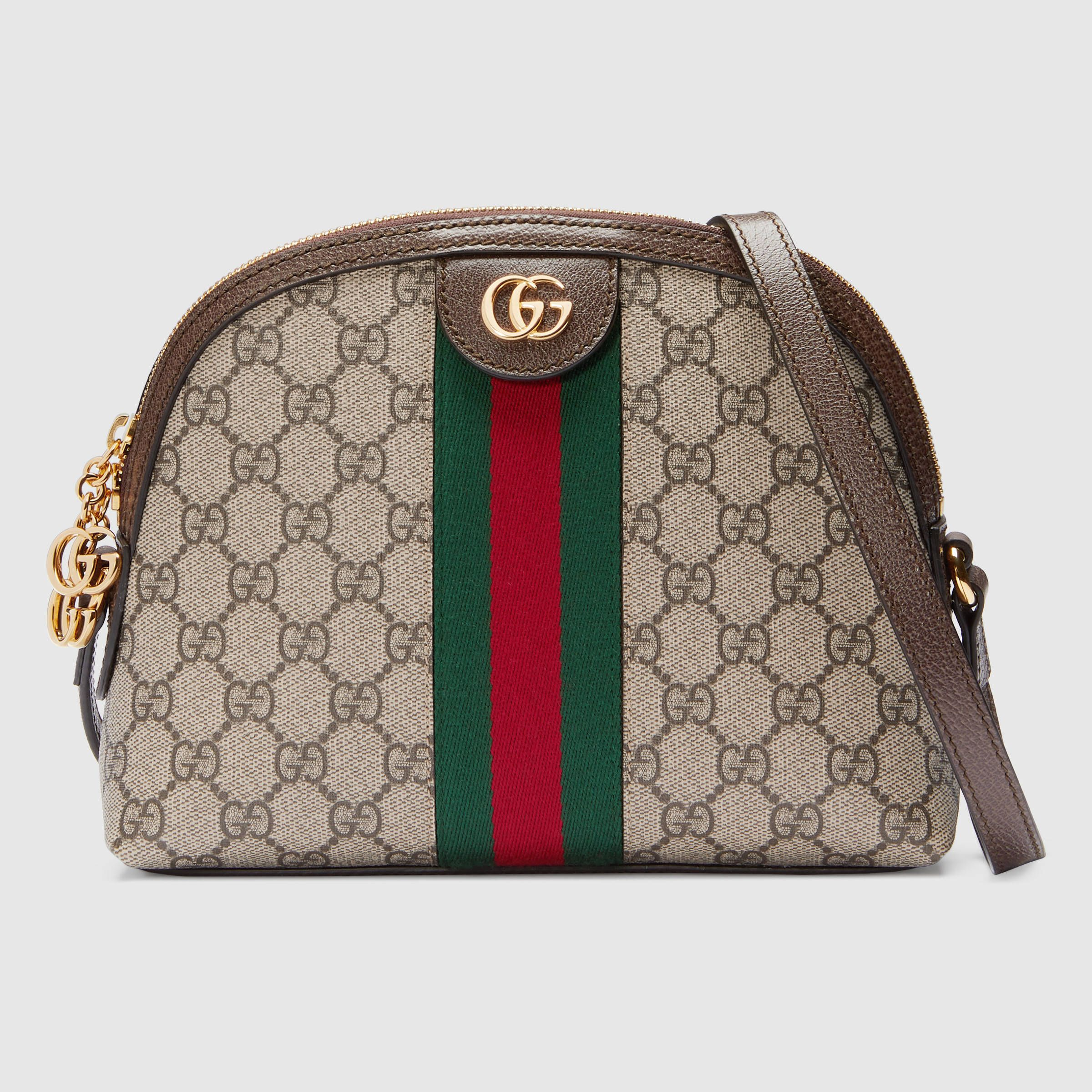 b3e9d2aa5 Ophidia GG small shoulder bag. Ophidia GG Supreme shoulder bag Gucci ...