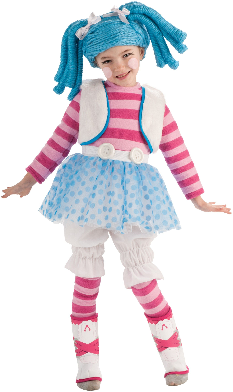 disfraz mueca mittens fluff unu stuff de lalaloopsy para nia