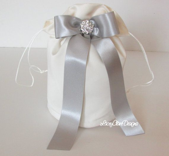 Bridal Dollar Dance Bag Wedding Money By Laceyclairedesigns