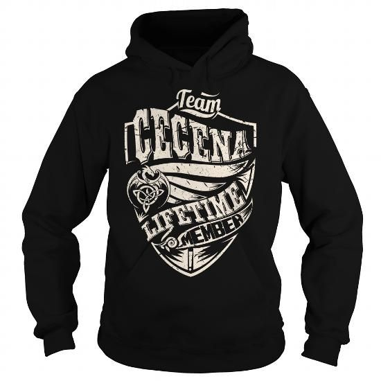 I Love Team CECENA Lifetime Member (Dragon) - Last Name, Surname T-Shirt T shirts