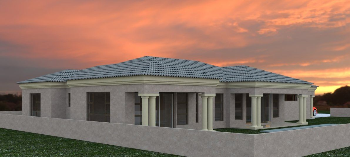 House Plan Bla 074s 3 House Plans South Africa Bedroom House Plans House Plans