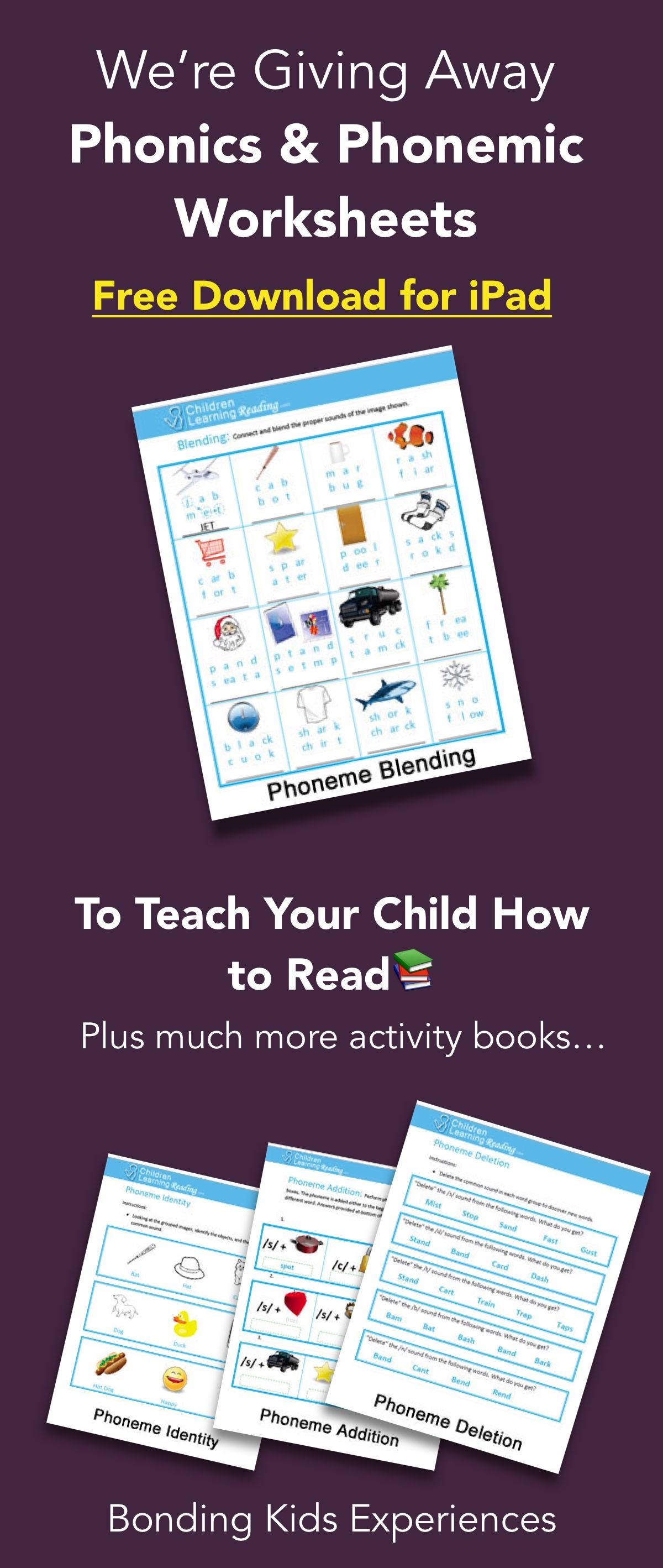 Teach Your Kid How To Read With These Fun Worksheets