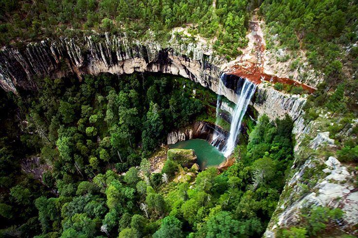 Cascada Salto del Agua Llovida- Durango, México- Una majestuosa - cascada de pared