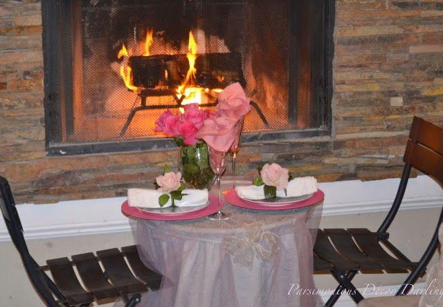 Parsimonious Décor Darling: Set Your Table With Flair--A Ballet-Inspired Tête-à-Tête Fireside