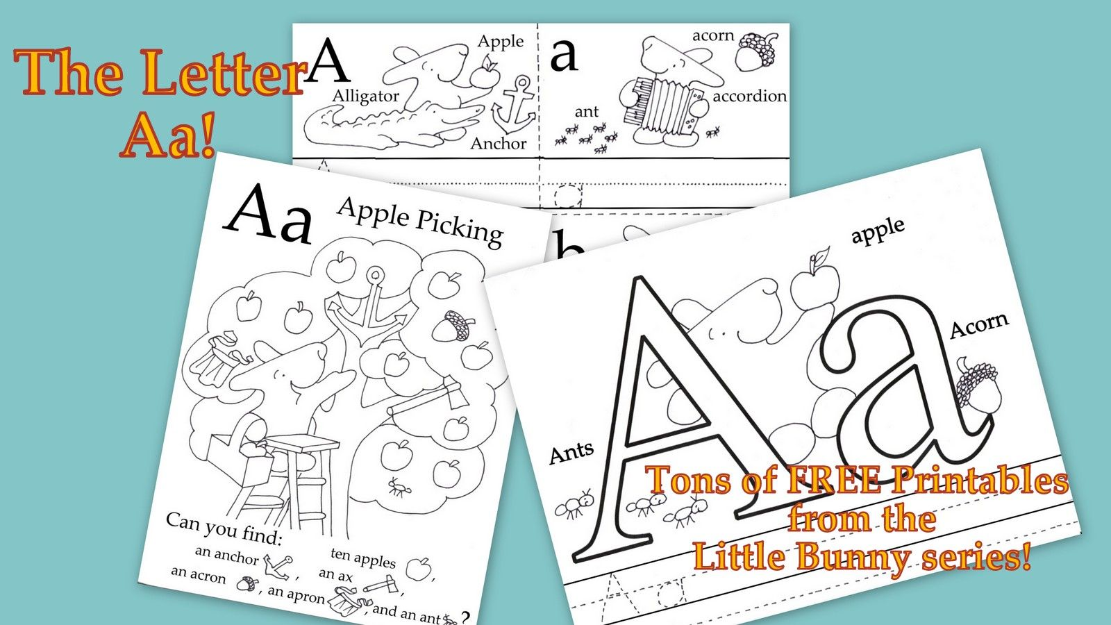 Time For The Letter Of The Week Tons Of Free Printables Form The Little Bunny Series