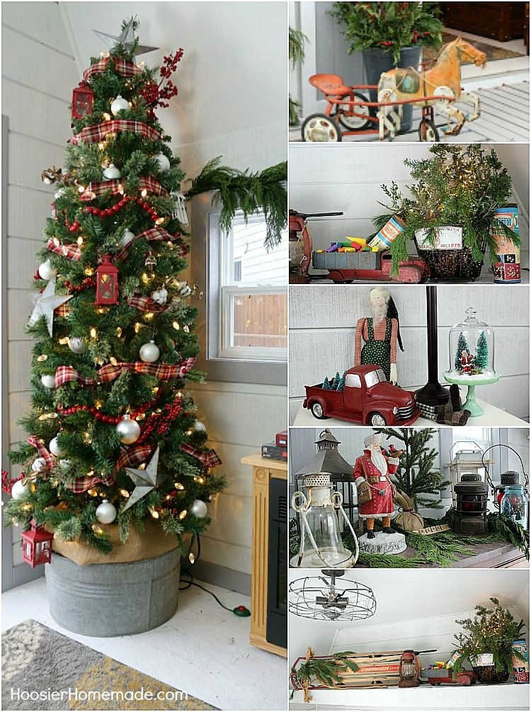 FARMHOUSE CHRISTMAS DECOR She Shed Outdoor Christmas