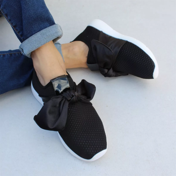 New Neutral Bow Sneakers | Bow sneakers, Bow shoes, Sneakers