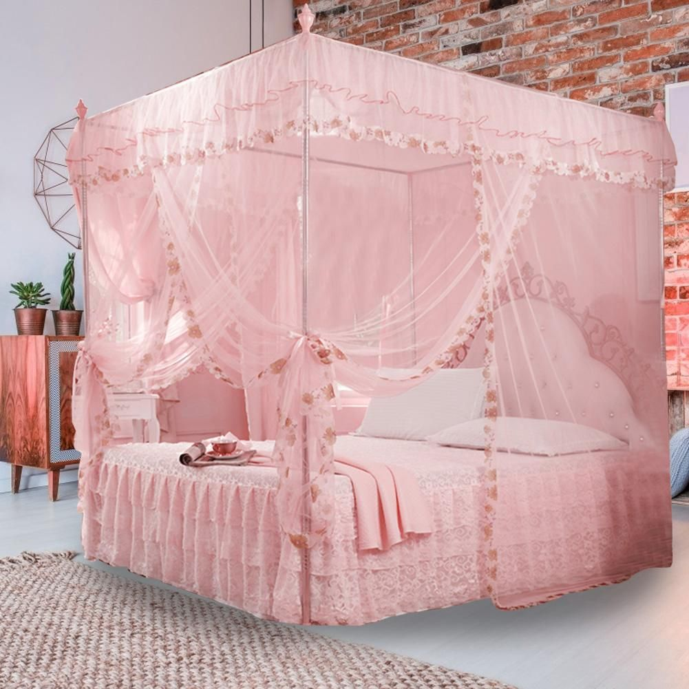 Girlchoice Luxury Princess Bed Canopy Curtain Lively Focus Princess Canopy Bed Girls Bed Canopy Princess Bedrooms