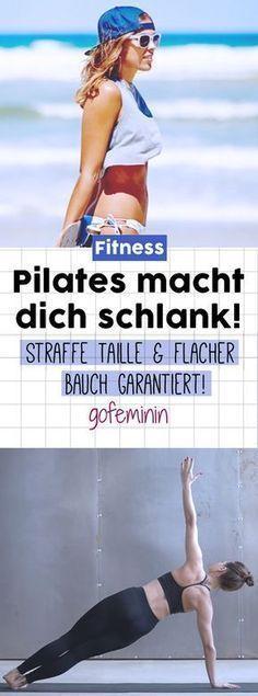 Der Speck muss weg? Unser Tipp: Pilates für den flachen Bauch #pilatesworkoutroutine