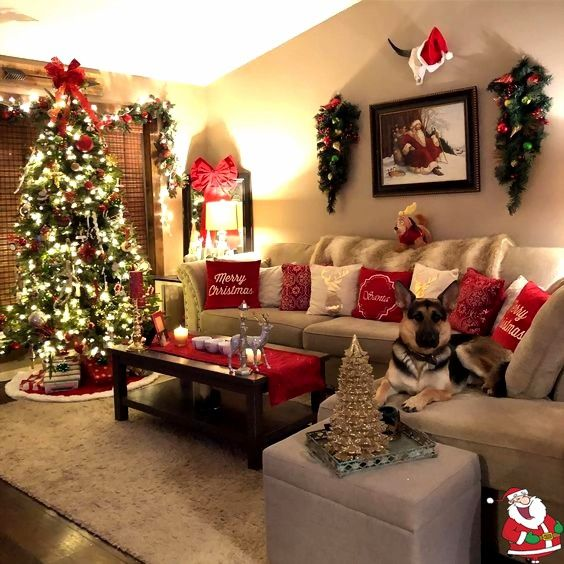 50 Christmas Apartment Decor Ideas that takes the Definition of Elegance to a Whole New level  Hike n Dip