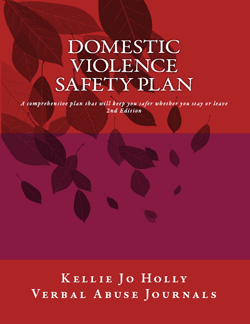 A Safety Plan That Includes Things You Can Do While Living With An