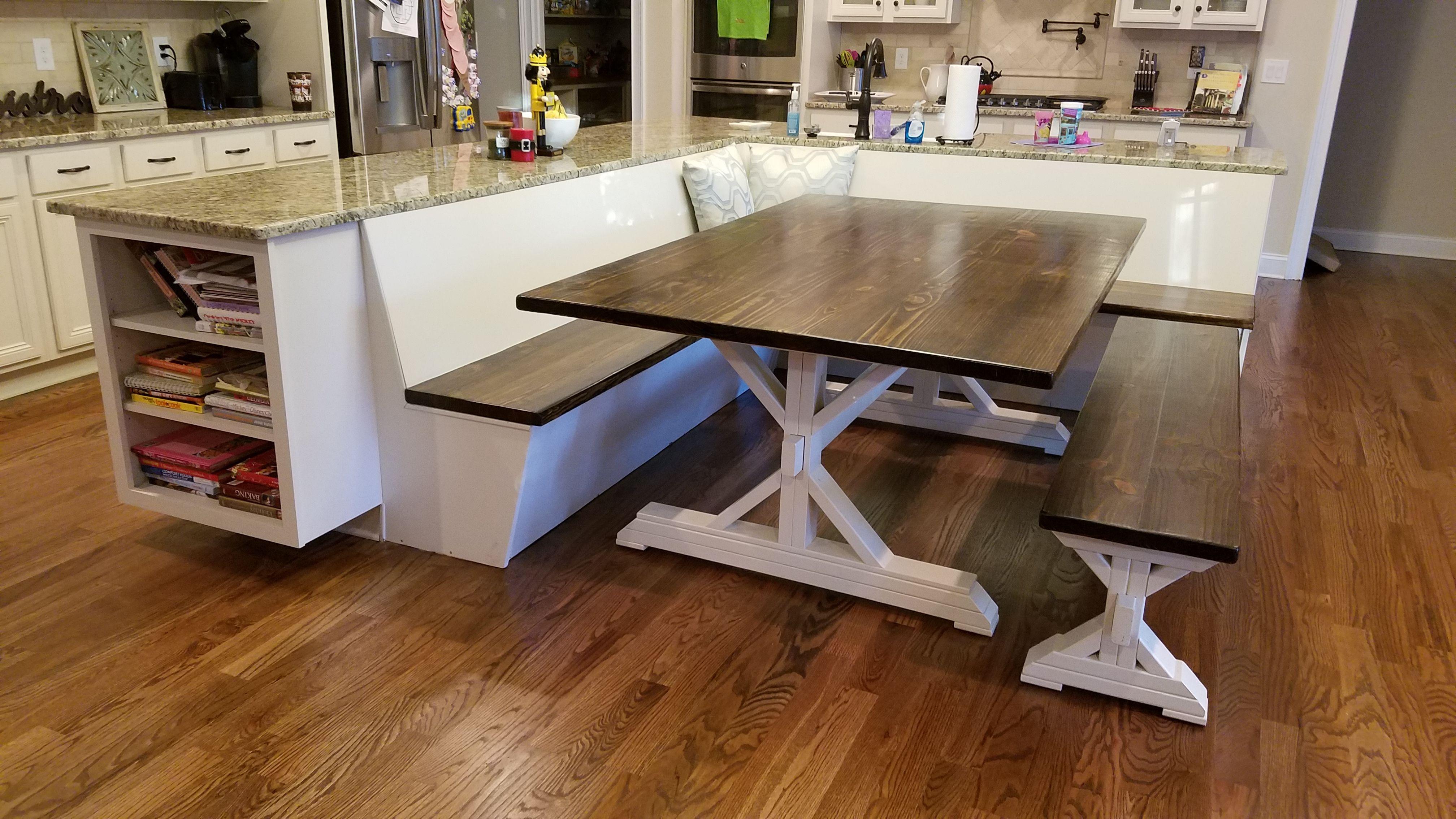 8 Kitchen Island Booth Ideas Kitchen Island Booth Kitchen Booths Kitchen Remodel