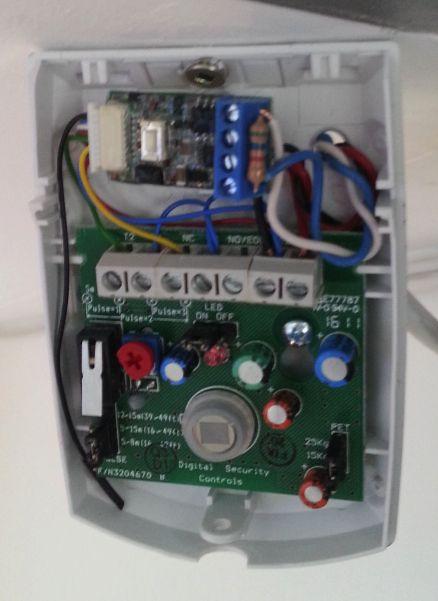 Dsc sensor with fibaro z wave pinterest